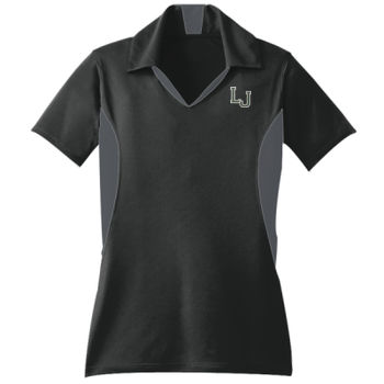 Ladies Side Blocked Micropique Sport Wick Polo Thumbnail